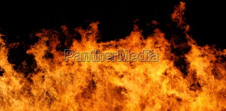file di panorama xxl del fuoco