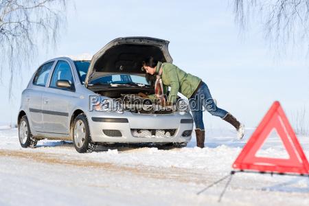ripartizione auto invernale motore di