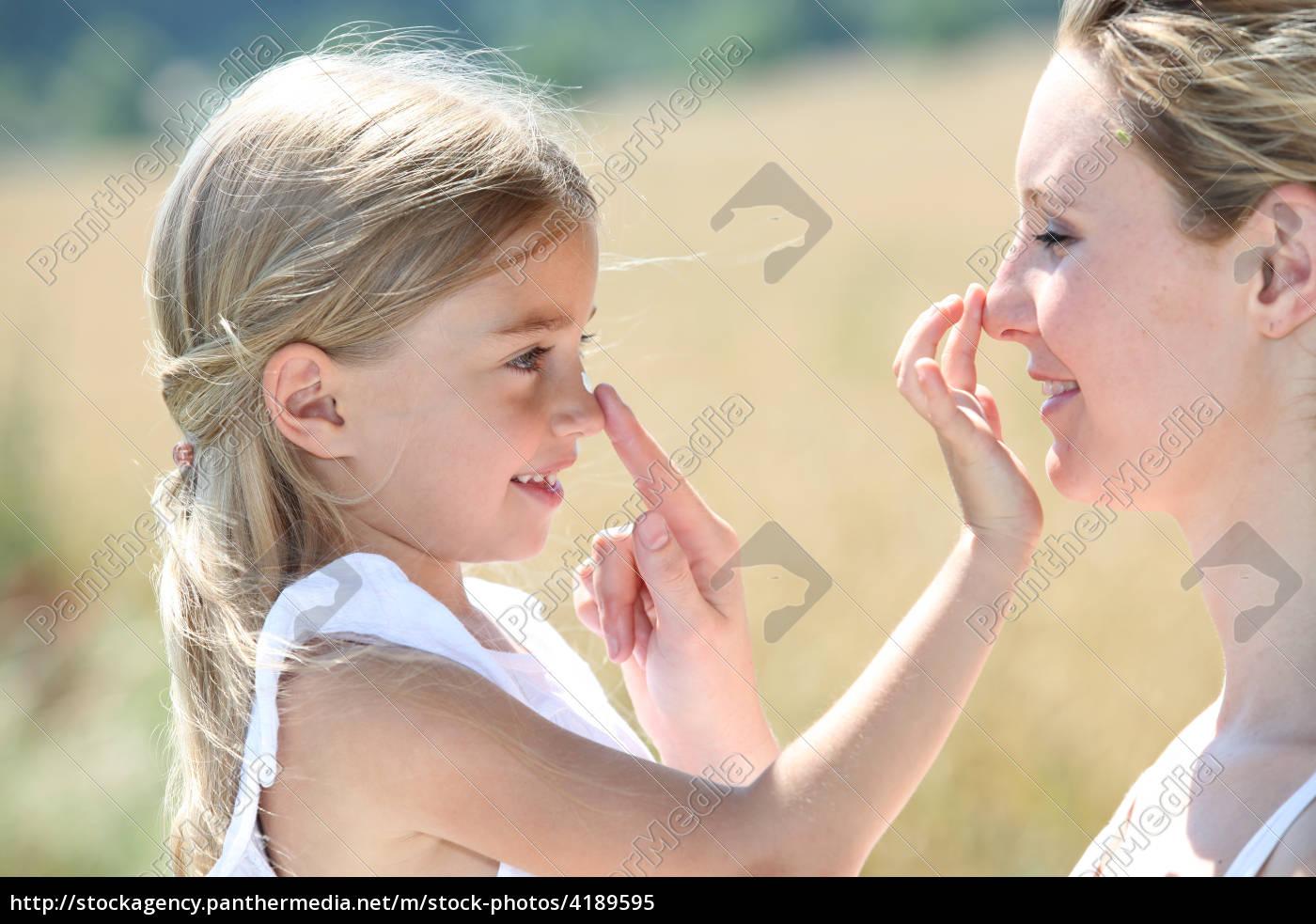 madre, e, figlia, di, mettere, la - 4189595