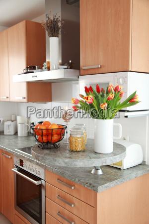 cucina e sala da pranzo interna