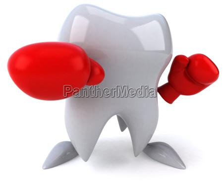 salute illustrazione dente saggezza mal di