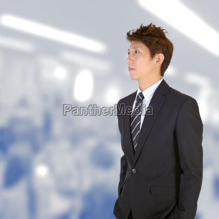 ufficio guardare osservare uomo daffari businessman