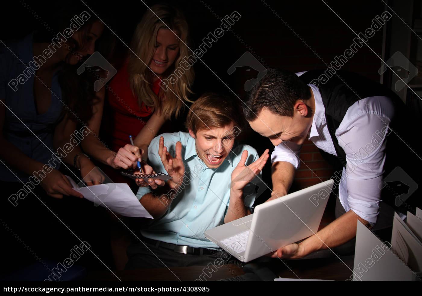 donna, telefono, ufficio, portatile, computer, donne - 4308985