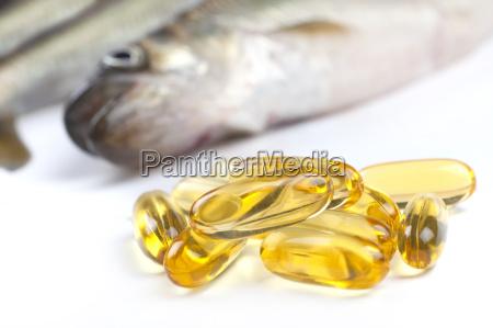 capsule di olio di pesce