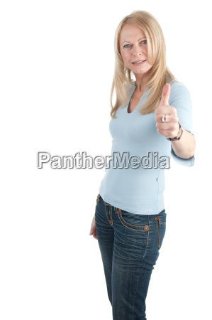 donna presentare vendere positivo foto competenza