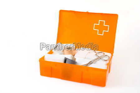 apra la cassetta di pronto soccorso