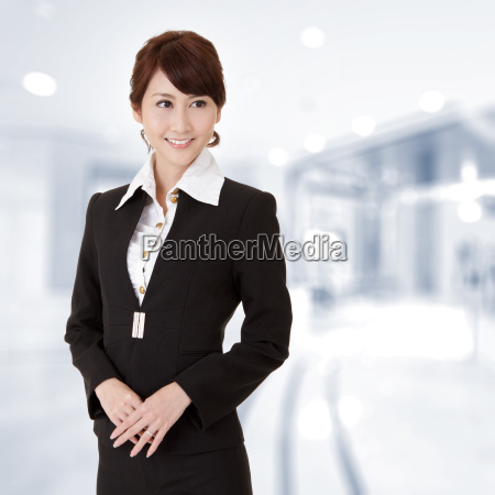 successful young executive woman