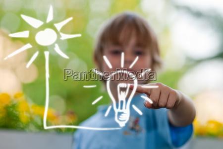 piani per bambini e di energia