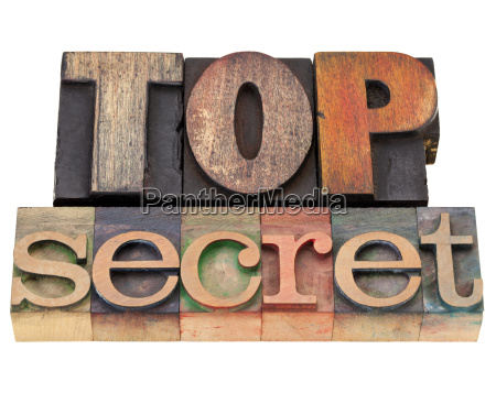 top secret in tipo tipostampa
