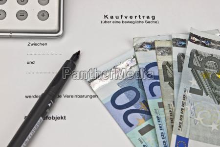 segnale contratto scrivania firma strumento economia