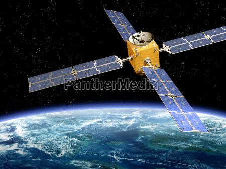 spazio scienza satellite tecnologia satellitare globo