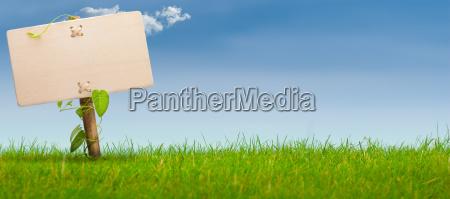 ambiente striscione pubblicita annuncio annuncio sul
