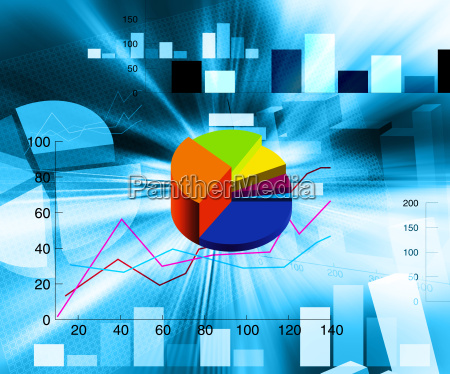 grafico illustrazione torta torte finanza rapporto
