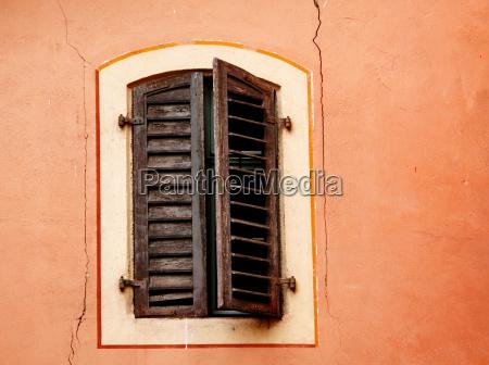 finestra legno persiane imposta persiana vecchio