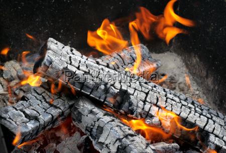 pericolo legno caldo cenere fuoco incendio