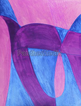 blu pittura porpora viola astratto contento