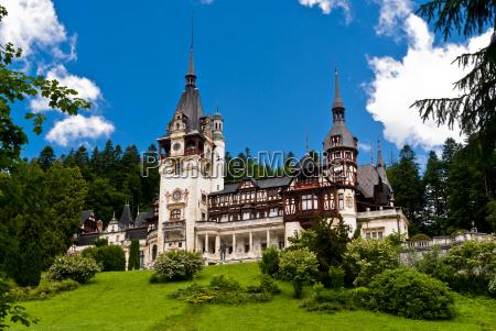 blu antico stile di costruzione architettura