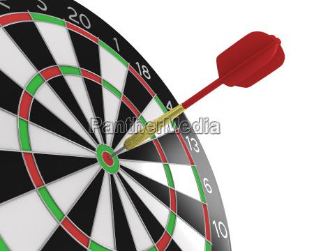 obiettivo scopo frecce mirare punteggio puntinatura