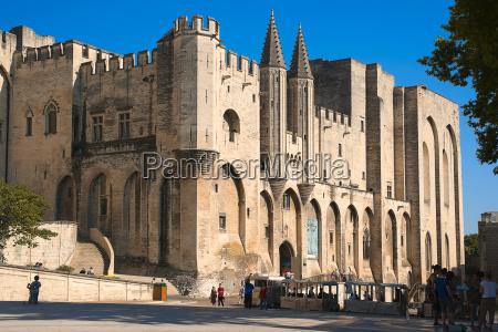 avignon papspalast