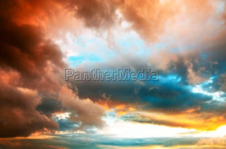 tramonto alba drammatico cielo firmamento fondale