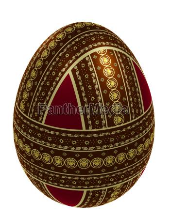 rilasciato pasqua appartato decorato uovo dipinto