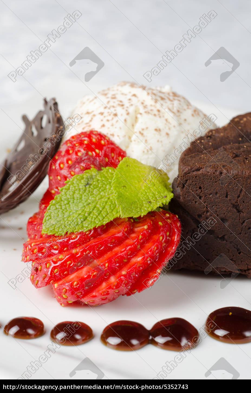 chocolate, flan - 5352743