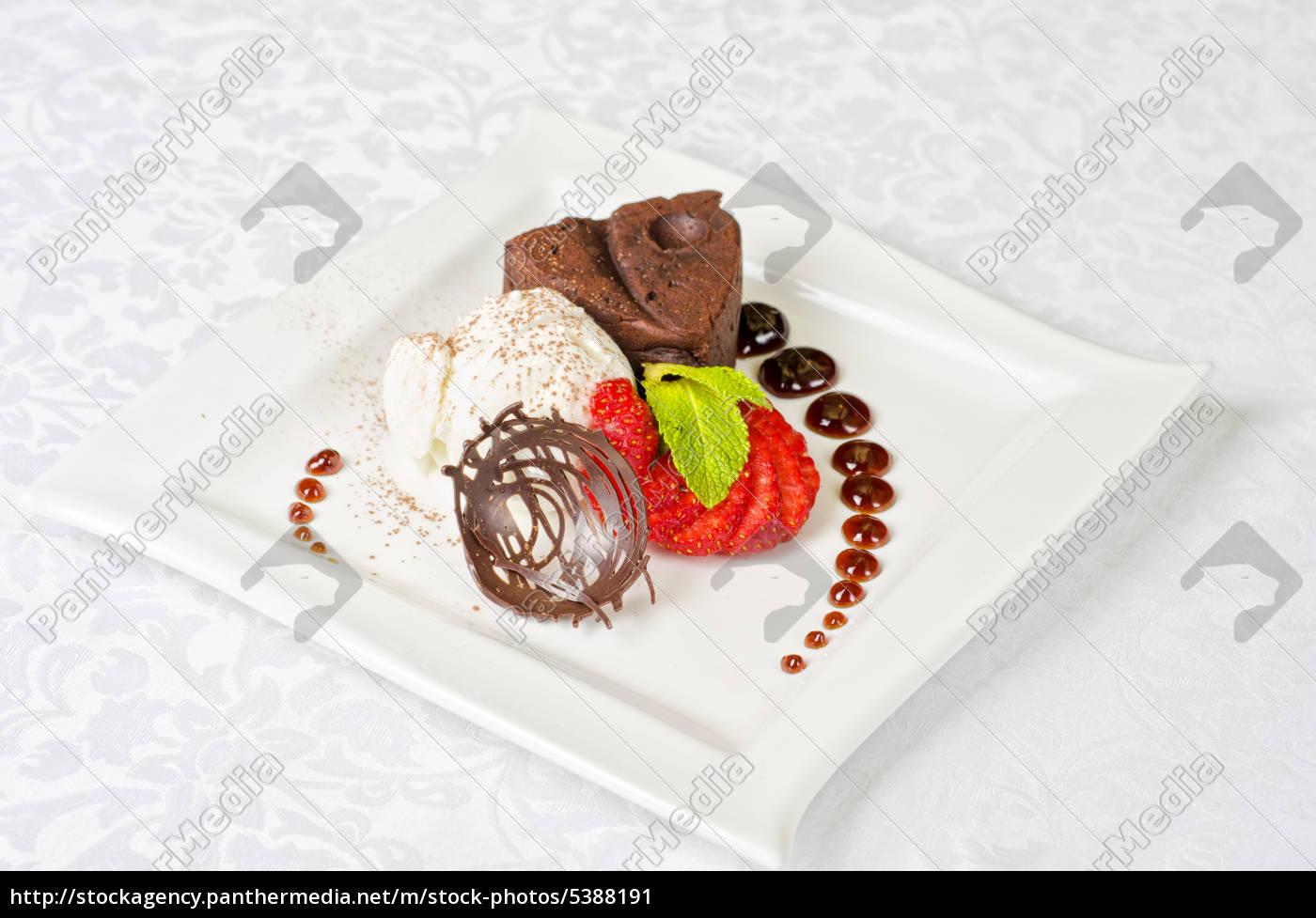 chocolate, flan - 5388191