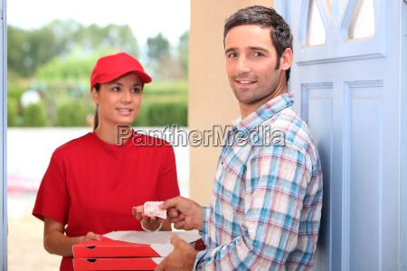 servizio di consegna pizza