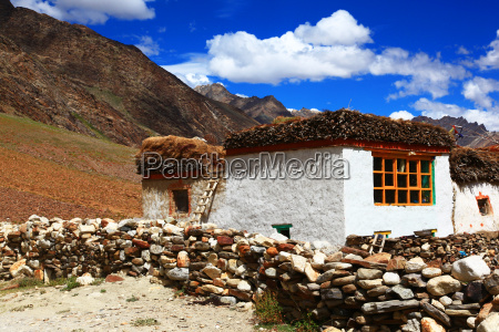 traditional house zanskar valley india