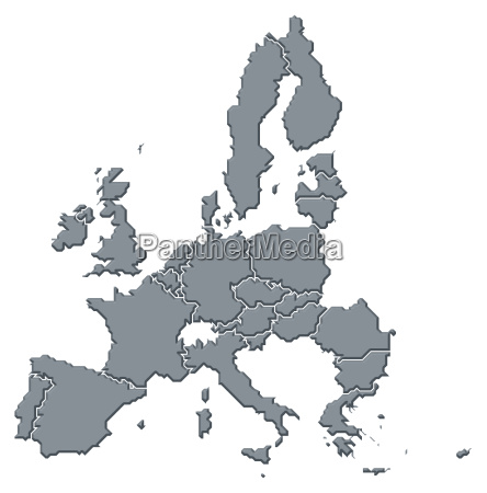 map of the european union