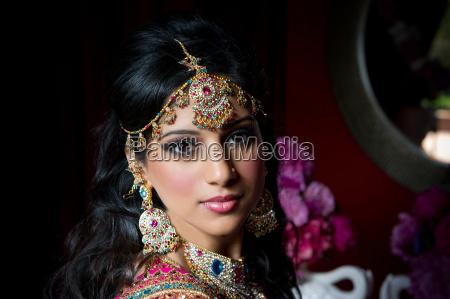 splendida sposa indiana