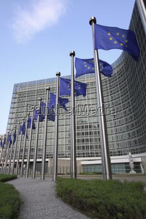 sede centrale della commissione europea a
