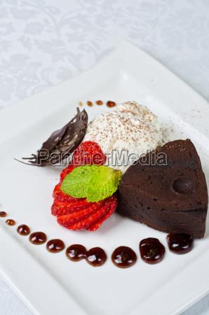 flan, al, cioccolato - 5546175