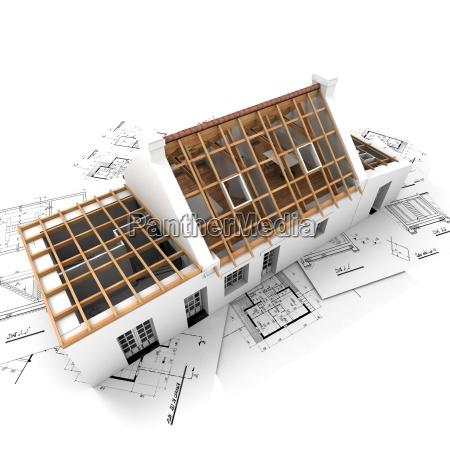 casa costruzione stile di costruzione architettura