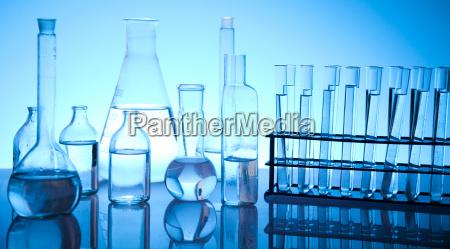 vetreria di laboratorio chimico