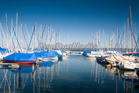 porto di vela sul lago starnberg