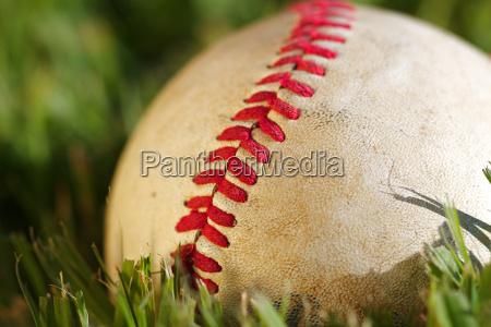 palla campo cuciture baseball sarta prato