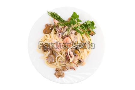 ristorante cibo salute rilasciato marrone gamberetto