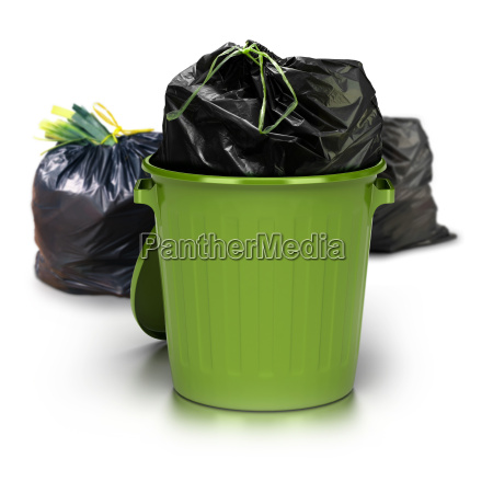 spazzatura verde puo