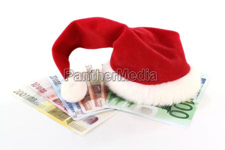euro nicholas gratifica natalizia pittogramma icona