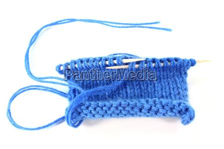 campione di lavoro a maglia