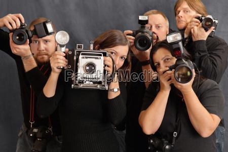 macchina fotografica fotografo adulto adulti giornalista