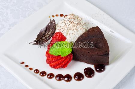 ristorante cibo oggetto dolce primo piano