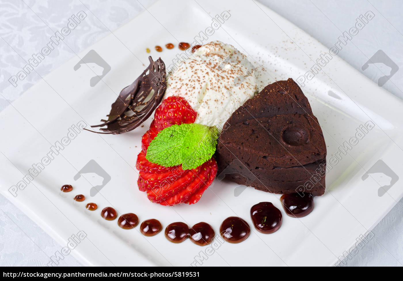 chocolate, flan - 5819531