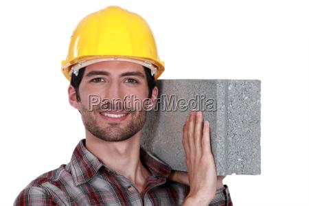 caucasico bianco mattoni mattone costruito sviluppatori