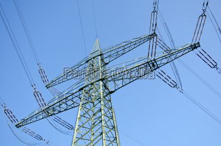 carico elettrico con linee