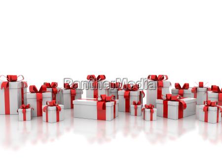 festa regalo scatola scatolame natale scatole
