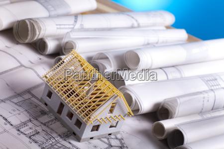 piano di architettura e casa
