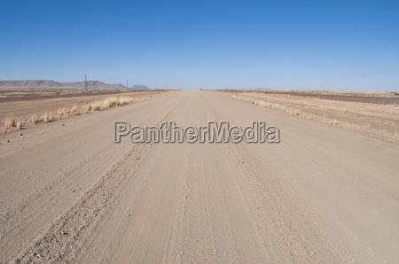 deserto namibia strada