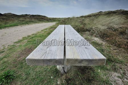 panchina, in, dune, a, bune, 16 - 5989591